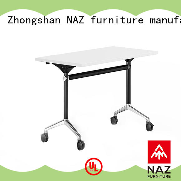 NAZ furniture professional folding training table for sale for home