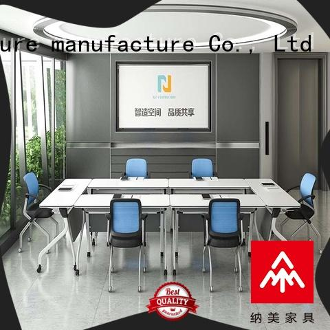 movable modular conference table design design on wheels for training room