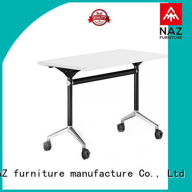 NAZ furniture professional aluminum training table for conference for office