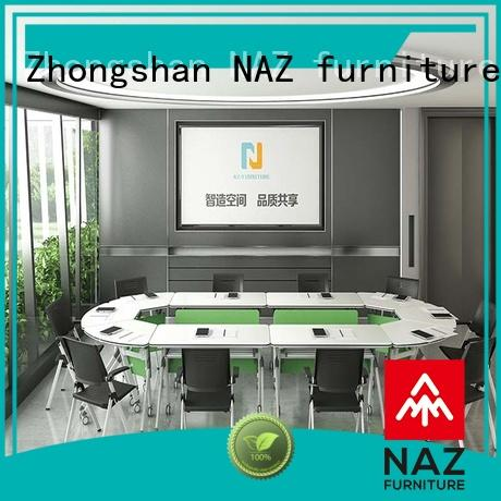 NAZ furniture ft003c conference room tables folding manufacturer for training room