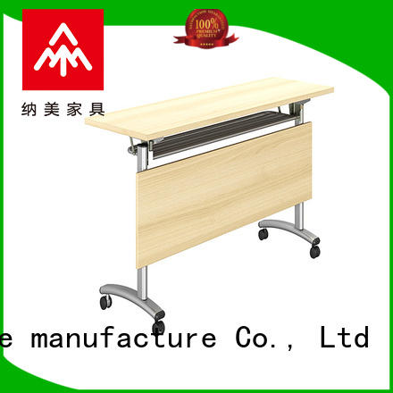 professional flip top training tables movable for conference for office
