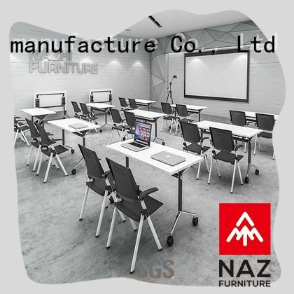 NAZ furniture durable foldable office furniture on wheels