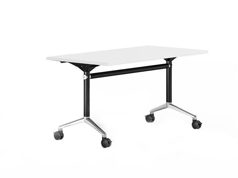 computer training room furniture 8001200140016001800mm with wheels for training room-2