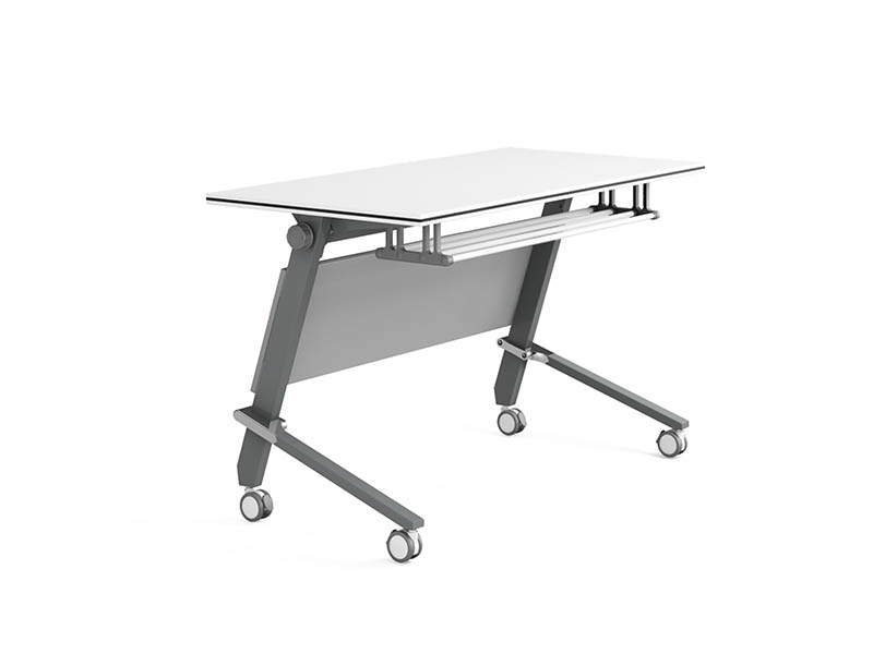 NAZ furniture computer boardroom training table with wheels-2