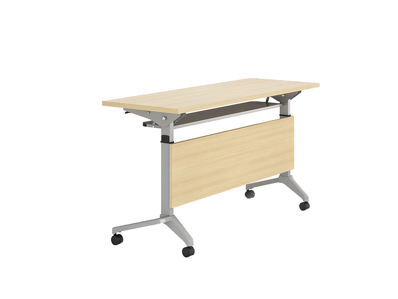 NAZ furniture trapezoid computer training tables supply-1