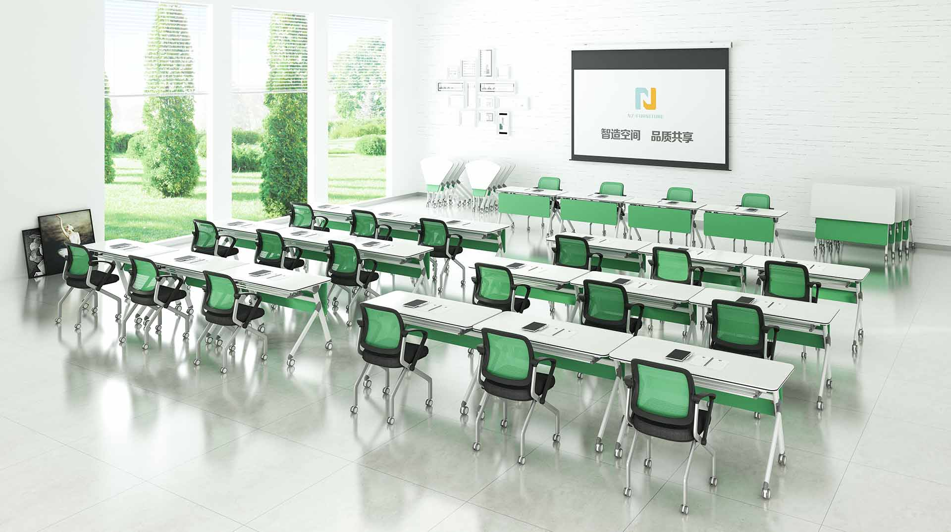 NAZ furniture folding conference training tables supply for meeting room-8