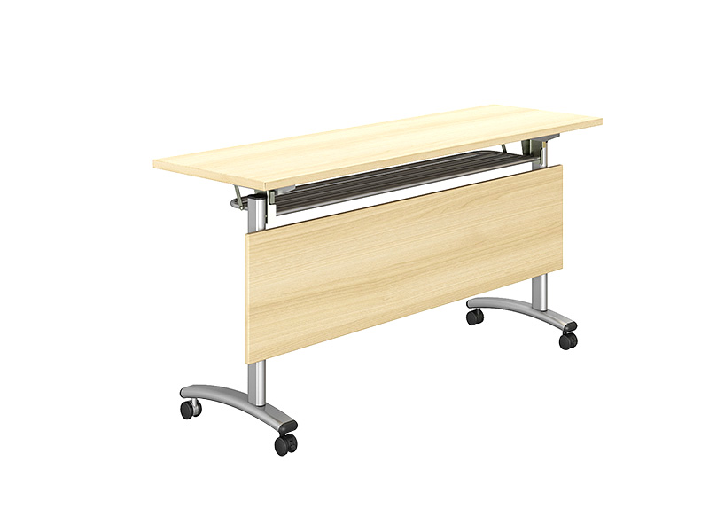 trapezoid training table design base for conference for home-1