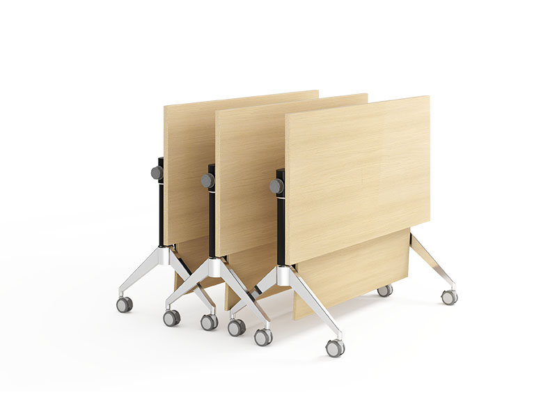 NAZ furniture wooden mobile training tables supply for office-3