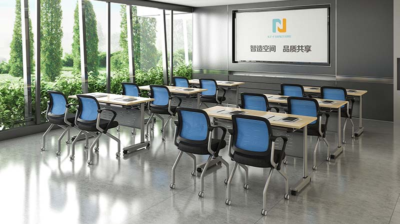 writing training tables and chairs alloy supply for meeting room-8