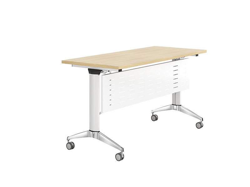writing computer training tables office with wheels for school-1