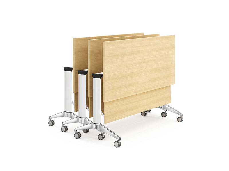 writing aluminum training table office supply-3