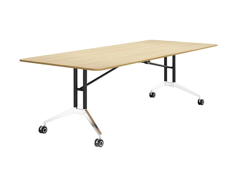 W2000-2400*D1000-1200*H750mm simple Folding Conference table FT-020C