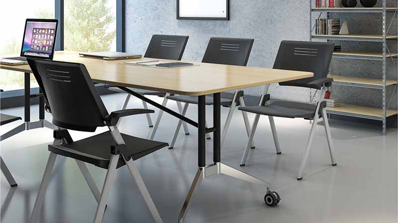 NAZ furniture movable conference room tables folding for sale for meeting room-8