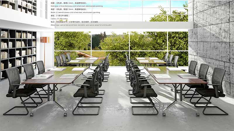 NAZ furniture alloy u shaped conference table manufacturer for school-9