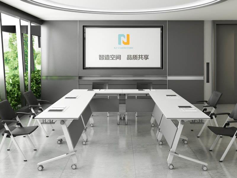 Custom Folding conference table durable FT-016C for 6/8/10/12/16/20Persons