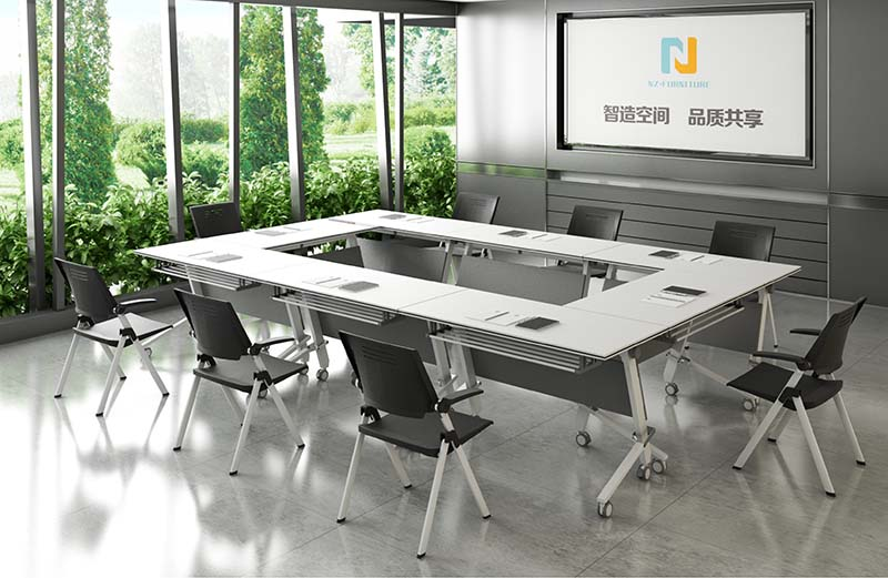 NAZ furniture ft018c modular conference room tables on wheels for office-8
