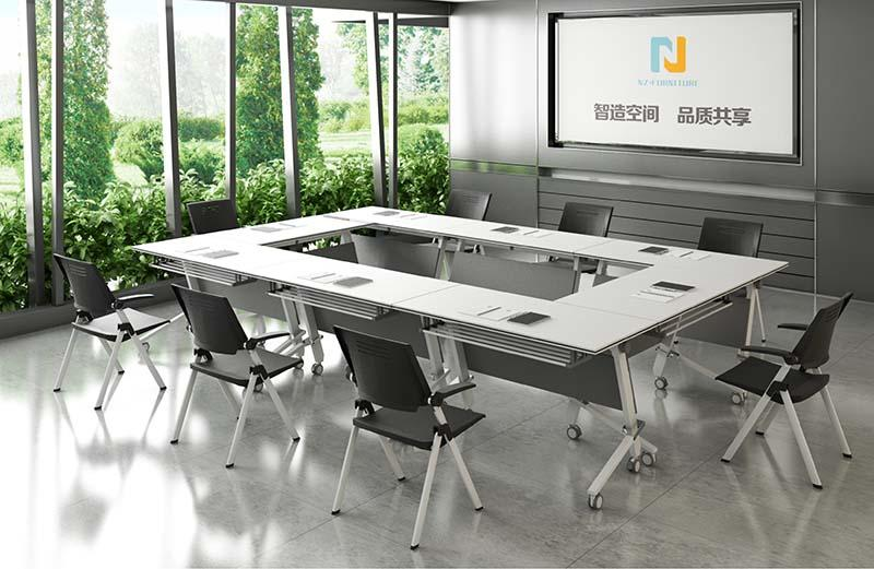 NAZ furniture ft018c modular conference room tables on wheels for office