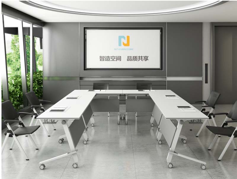 NAZ furniture ft018c modular conference room tables on wheels for office-9