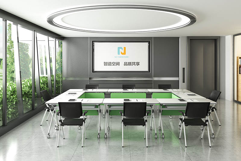 durable white conference table ft002c for sale-9