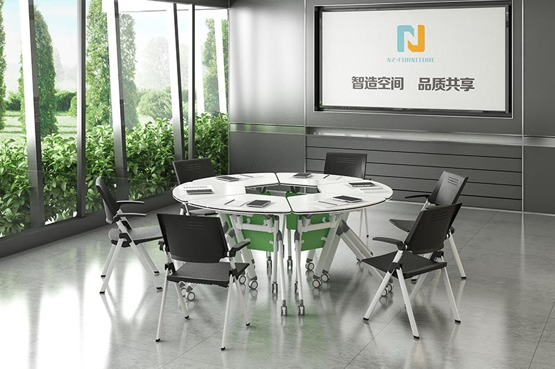 NAZ furniture nesting mobile conference table manufacturer for training room-10