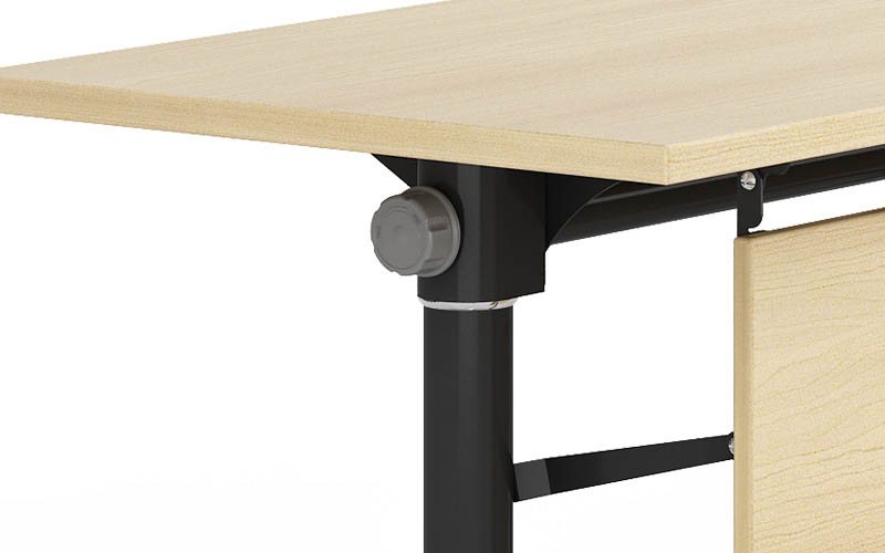 comfortable folding conference room tables with wheels conference for conference for training room-4