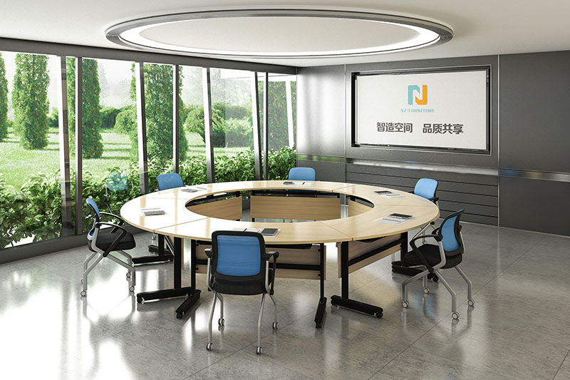 NAZ furniture movable folding conference room tables with wheels manufacturer for meeting room-8