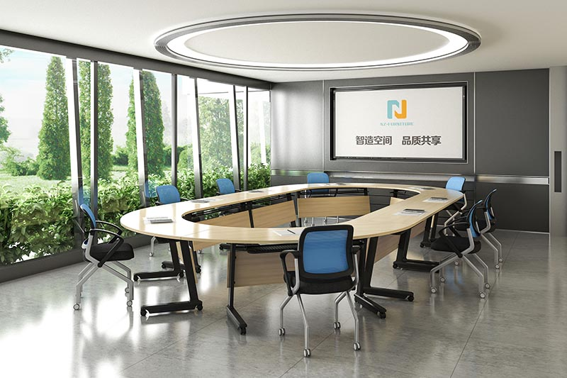 NAZ furniture professional 12 conference table for conference for training room-8