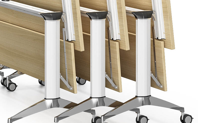 NAZ furniture movable conference room tables folding for conference for meeting room-6