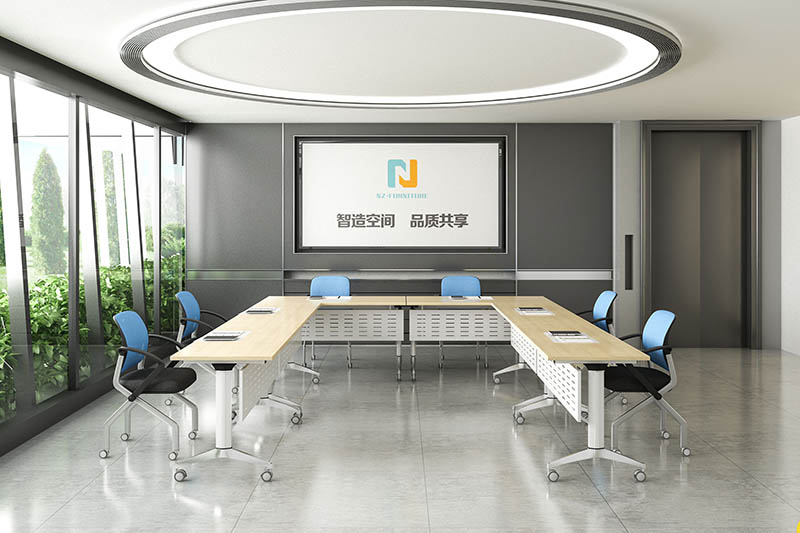 NAZ furniture movable conference room tables folding for conference for meeting room-10