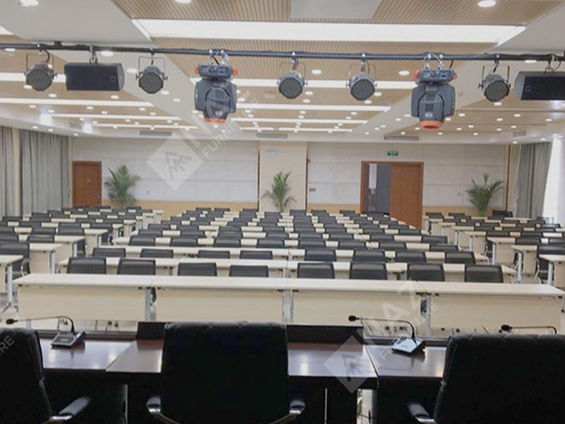 Governmental agency modular conference table case