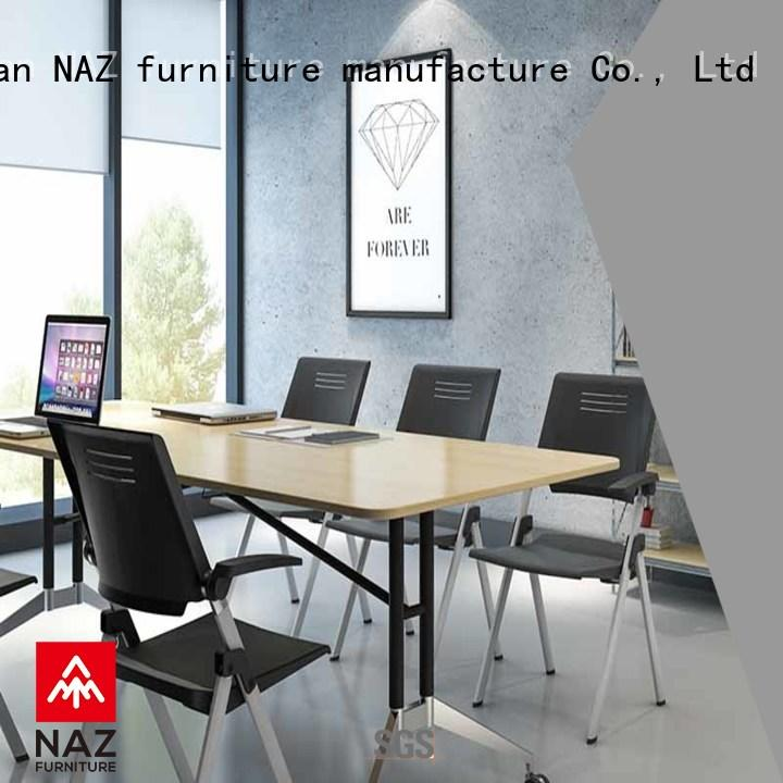 NAZ furniture alloy mobile conference table for conference for office