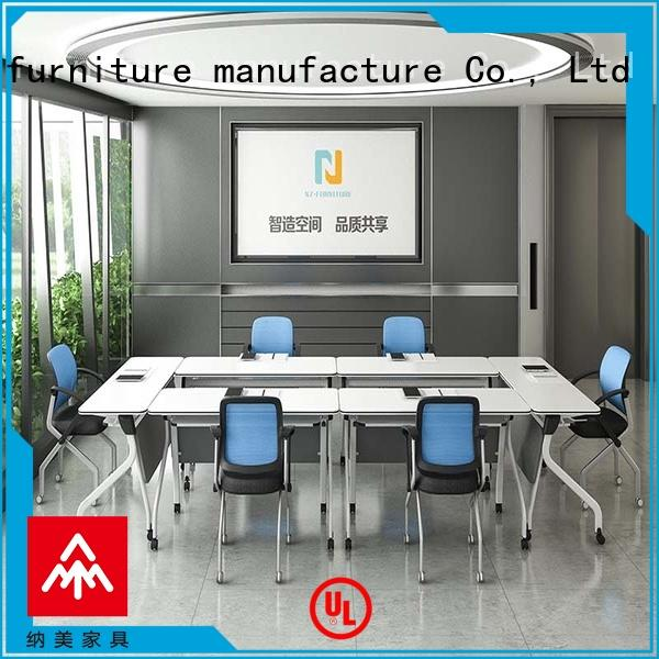 durable square conference table unique on wheels for office