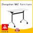 800/1200/1400/1600/1800MM Folding training table on wheels FT-030