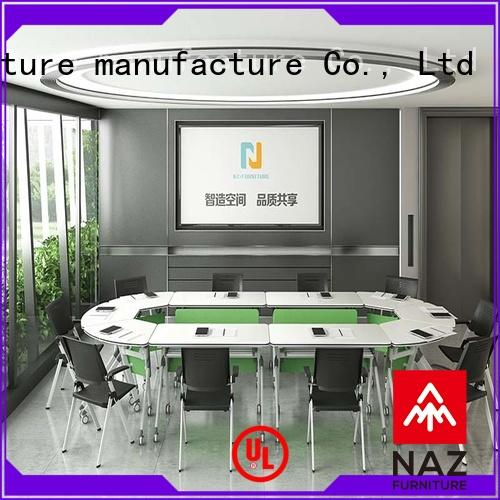 NAZ furniture durable conference room tables folding for conference