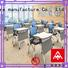 NAZ furniture simple foldable table with wheels wholesale for school