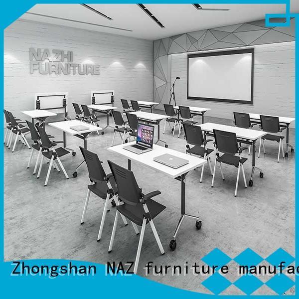 NAZ furniture frame conference room tables on wheels for office