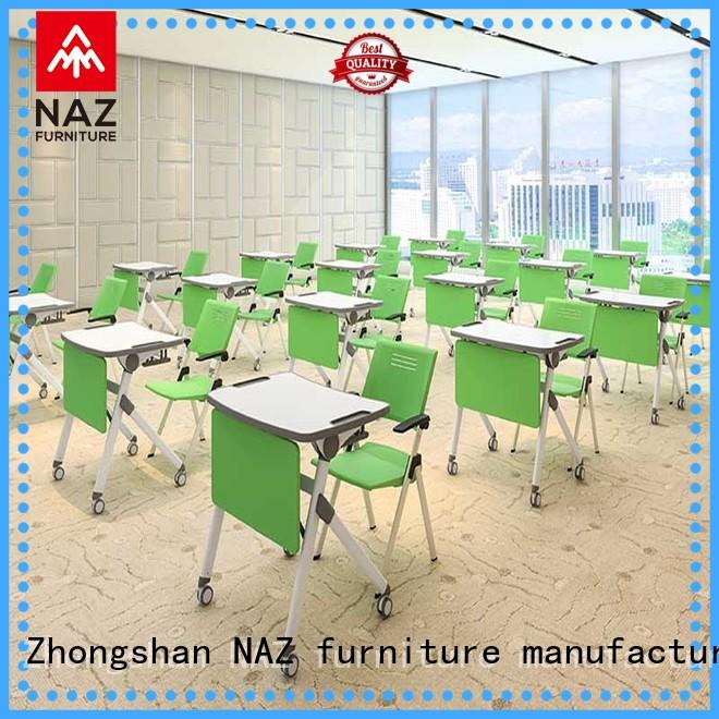 NAZ furniture ft010s foldable study desk for kids for training rooms
