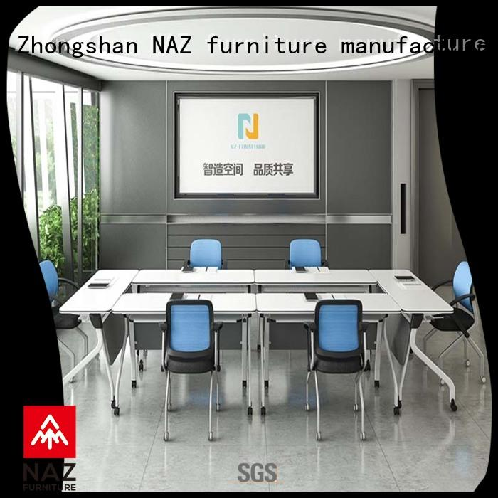 professional portable conference room tables design on wheels for training room