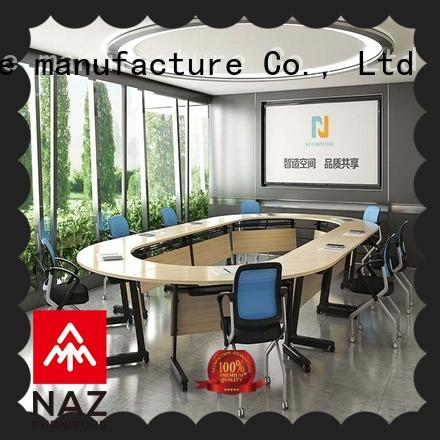 NAZ furniture alloy white conference table for sale for school