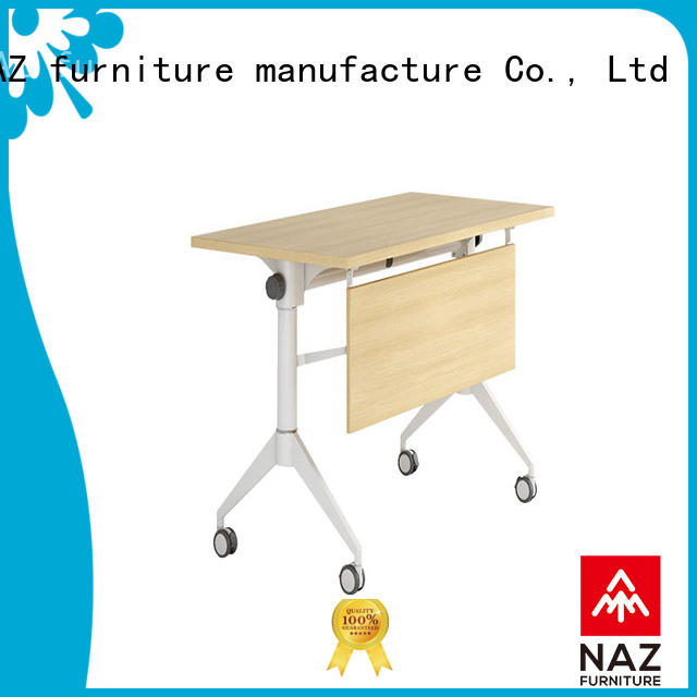 NAZ furniture professional training tables with wheels supply for school