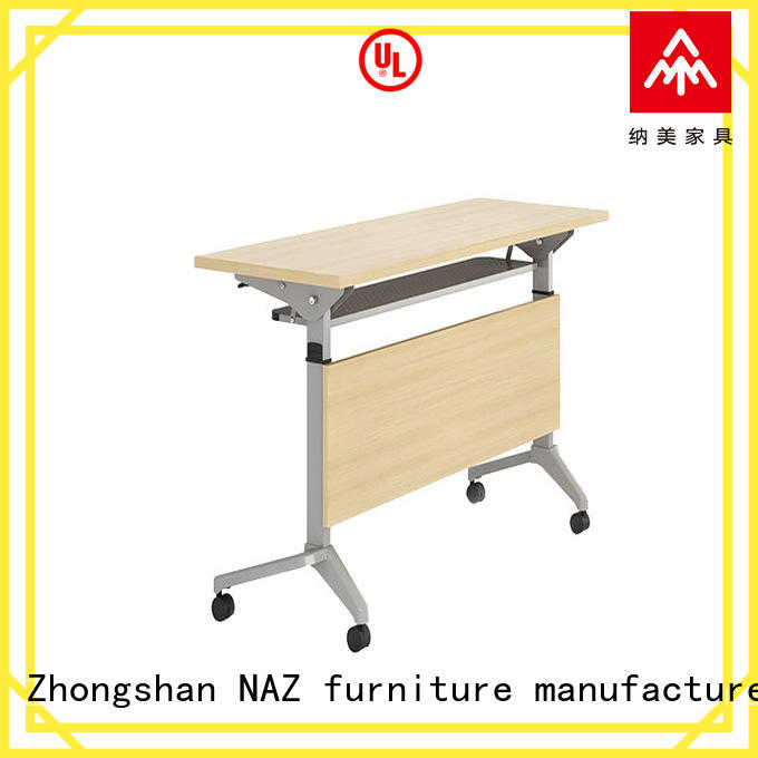 NAZ furniture writing conference training tables for conference for office