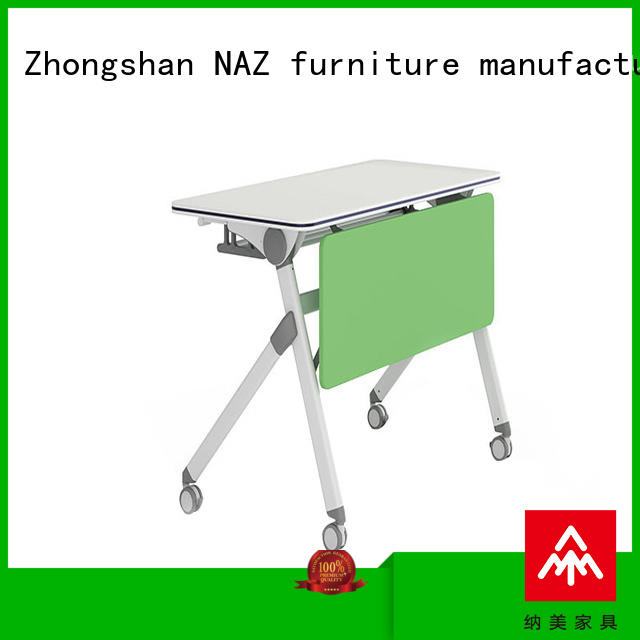 NAZ furniture designed folding training table for sale for home