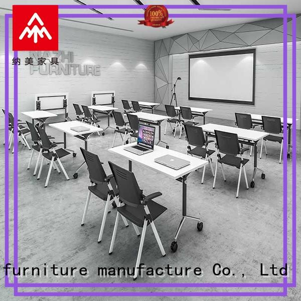 NAZ furniture movable mobile conference table manufacturer for school