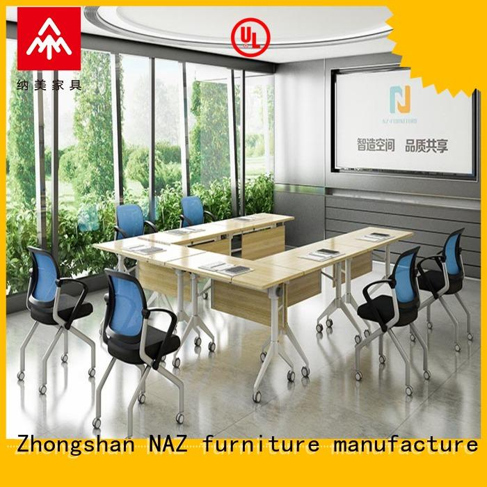 folding conference tables with wheels ft006c NAZ furniture