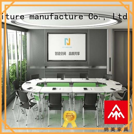 color folding conference room tables with wheels for conference for training room NAZ furniture