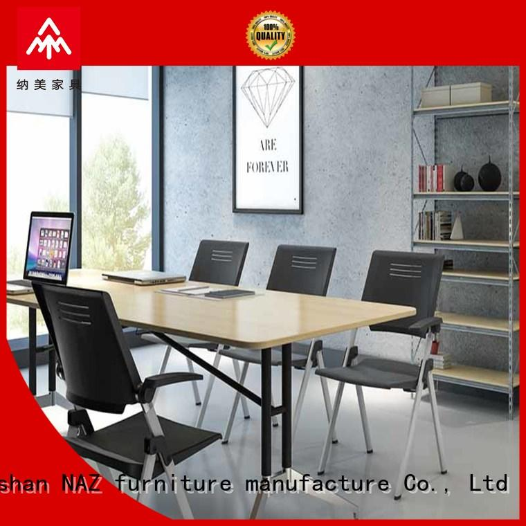NAZ furniture movable foldable boardroom table conference training room
