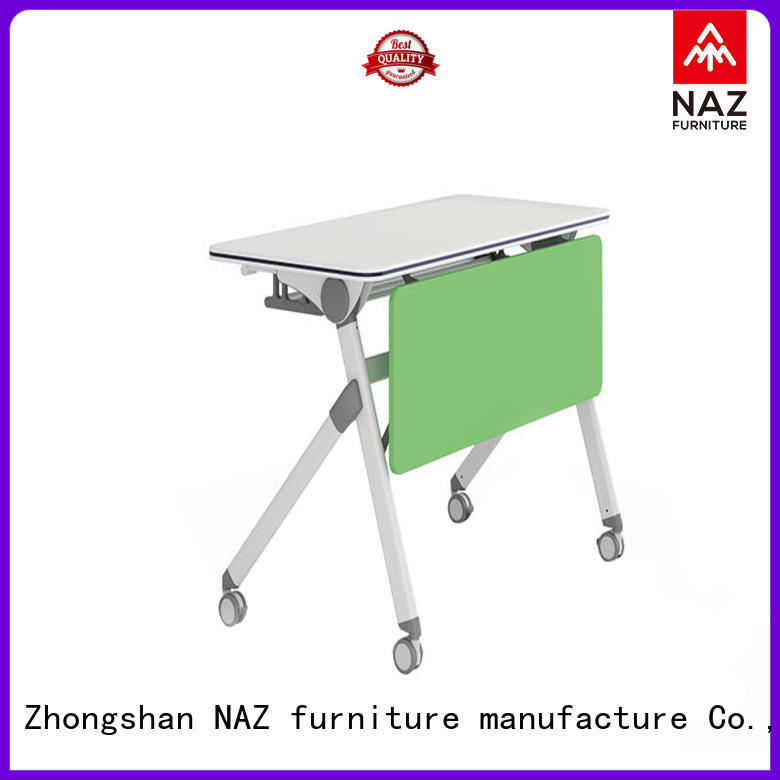 NAZ furniture writing training table design with wheels