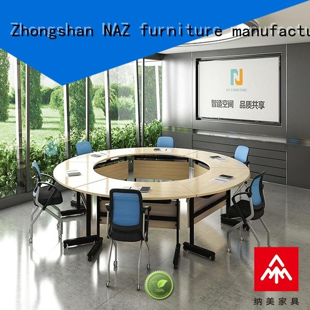 professional folding conference room tables with wheels ft008c for sale for meeting room