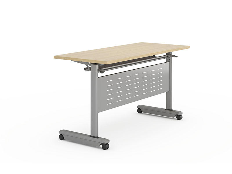 NAZ furniture designed flip top training tables with wheels for school-2