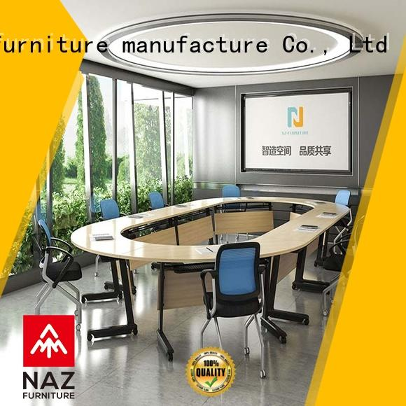 NAZ furniture folding 12 conference table for conference for meeting room